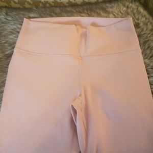 Fabletics Pants - Fabletics High Waisted Leggings Light Pink Small
